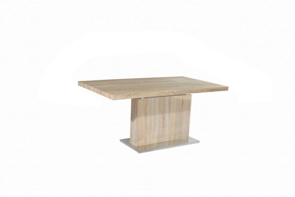 Jacquelin Light Oak Dining Table Pedestal CHF-JACQUELIN-DT-M