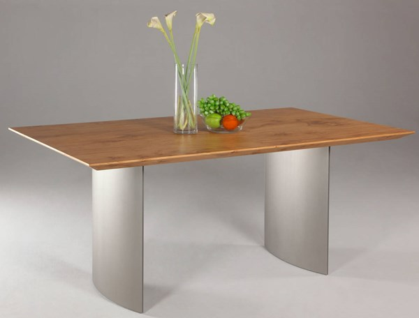 Jessica Modern Metal Stainless Steel Dining Table Base CHF-JESSICA-DT-B