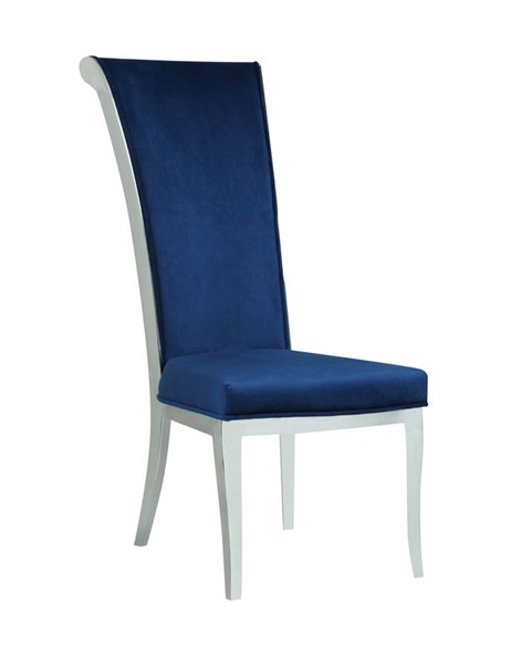 Chintaly Imports Joy Fabric Side Chairs CHF-JOY-SC-CH-VAR