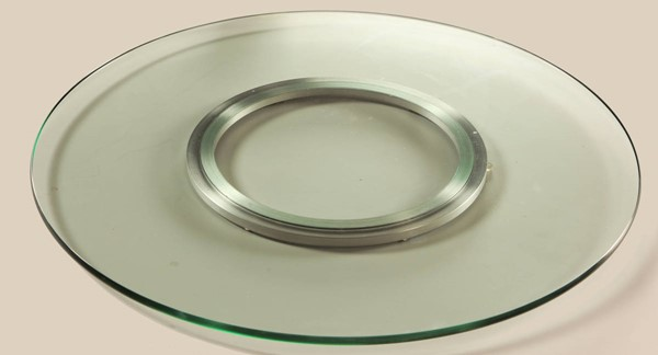 Chintaly Imports Lazy Susan Spinning Tray 24 Inch CHF-LAZY-SUSAN-24N