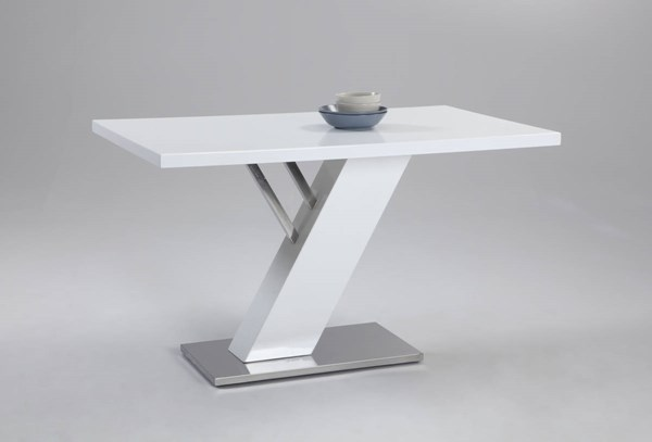 Linden Stainless Steel Dining Table Base Plate CHF-LINDEN-DT-B
