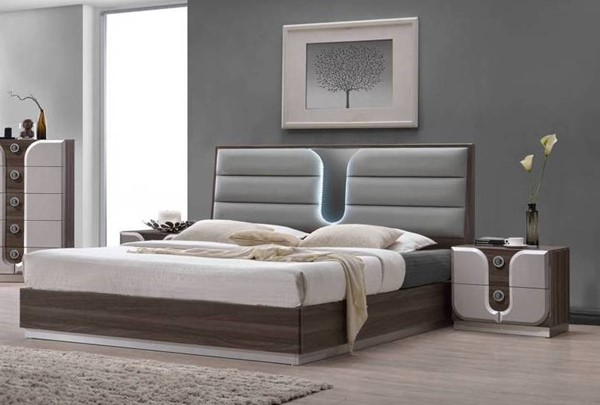 Chintaly Imports London 2pc Bedroom Set with King Bed CHF-LONDON-BR-S1