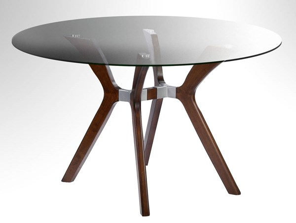 Luisa Round Glass Dining Table Top CHF-LUISA-DT-RND-T