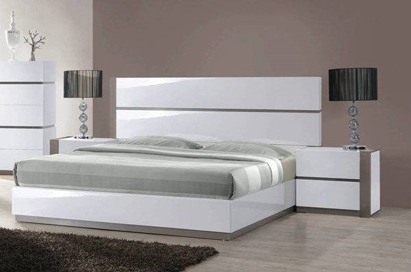Chintaly Imports Manila 2pc Bedroom Set with King Bed and Right Side Nightstand CHF-MANILA-BR-S1