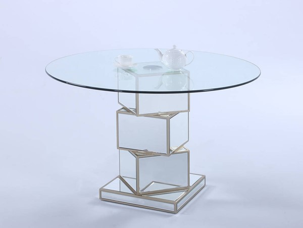 Chintaly Imports Marlene Dining Table The Classy Home