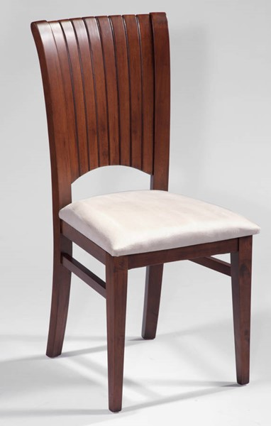 Solid Wood Channel Back 2 Side Chairs May-Sc CHF-MAY-SC