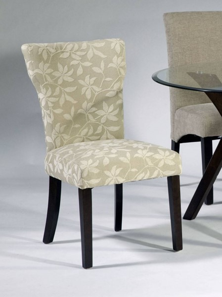 Attrayant 2 Chintaly Imports Melanie Satin Espresso Side Chairs