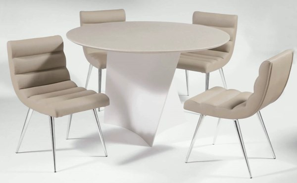Round Solid Surface Dining Table Top Priscilla-Dt-T CHF-PRISCILLA-DT-T