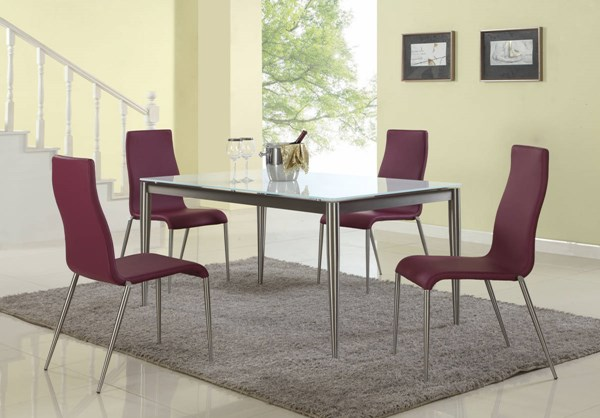 Remy Stainless Steel Rectangle Dining Table Legs CHF-REMY-DT-B