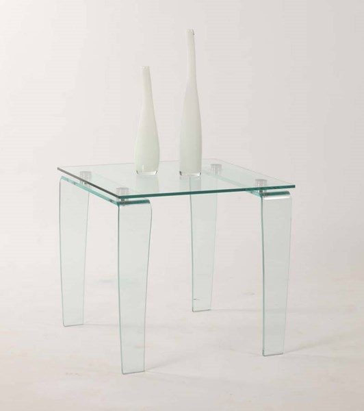 Vera Modern Squared Glass Lamp Table Top CHF-VERA-LT-T