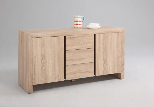 Zoey Modern Light Oak Two Door & Three Drawer Buffet CHF-ZOEY-BUF