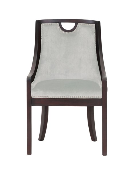 Chic Home Owen Beige Velvet Nailhead Dining Side Chair CHIC-FDC2715-CE