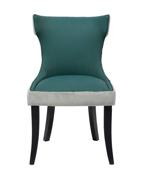 2 Chic Home Conrad Modern Teal Dining Side Chairs CHIC-FDC2717-CE