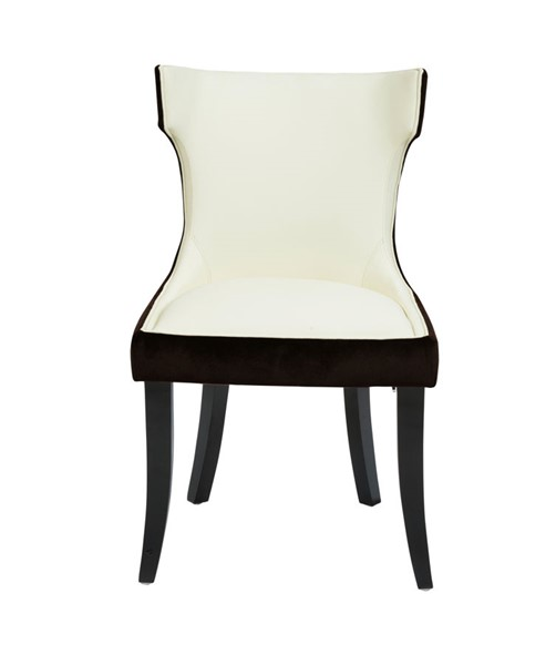 2 Chic Home Conrad Modern Light Beige Dining Side Chairs CHIC-FDC2718-CE