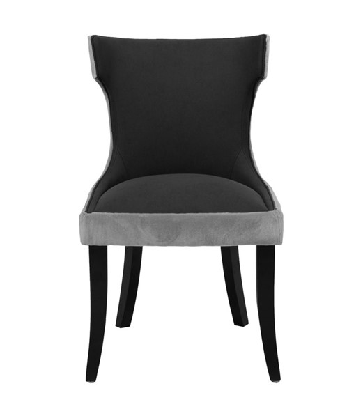 2 Chic Home Conrad Modern Black Dining Side Chairs CHIC-FDC2719-CE