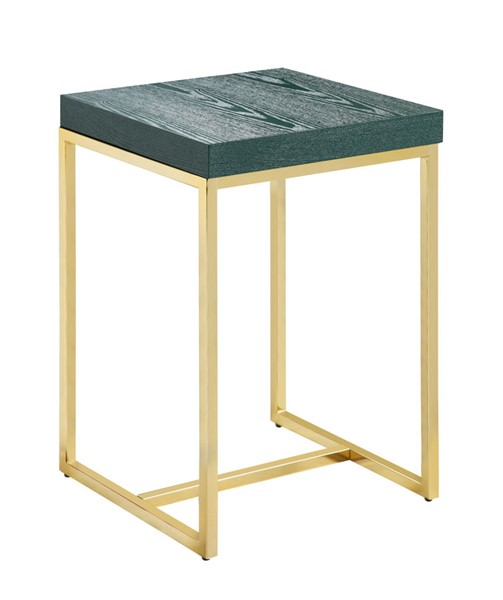 Chic Home Colmar Green Square Night Stand Side Table CHIC-FST2949-CE