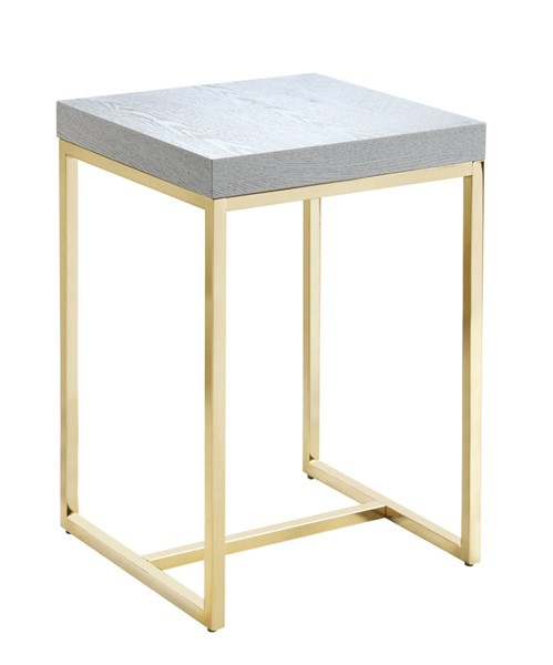 Chic Home Colmar Grey Square Night Stand Side Table CHIC-FST2951-CE