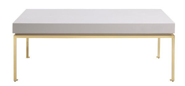 Chic Home Alcee Beige Rectangular Center Coffee Table CHIC-FST2959-CE