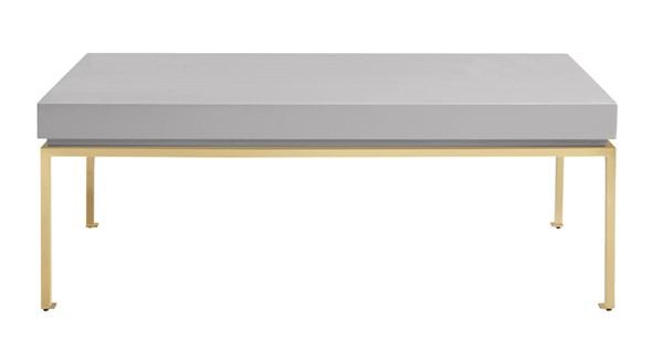 Chic Home Alcee Grey Rectangular Center Coffee Table CHIC-FST2961-CE
