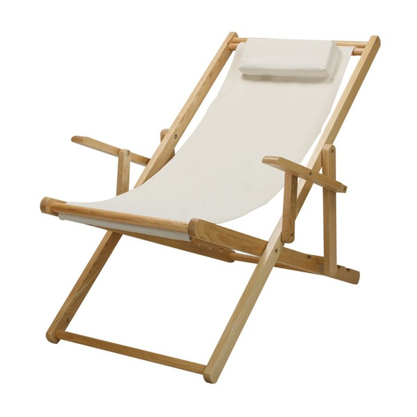 Casual Home Natural Wheat Fabric Sling Chair CHOM-114-00-011-12