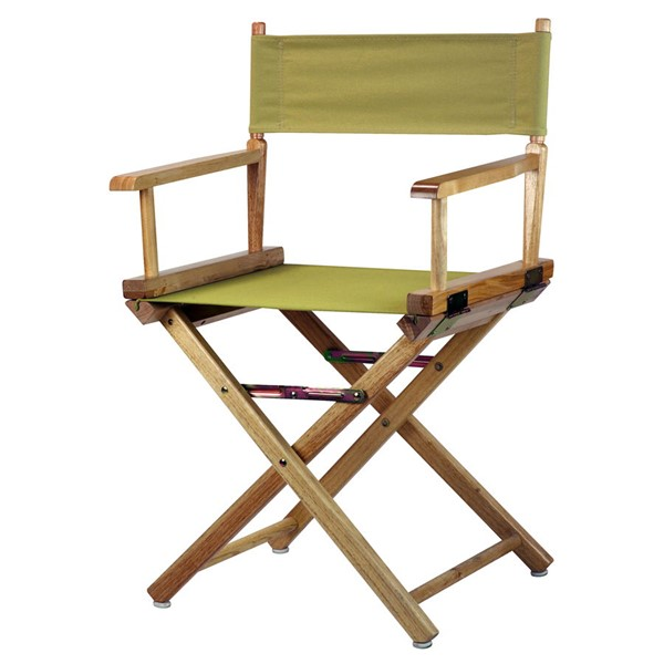 Casual Home Natural Olive Canvas 18 Inch Directors Chair CHOM-200-00-021-100