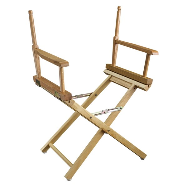 Casual Home Natural 24 Inch Directors Chair Frame CHOM-220-00
