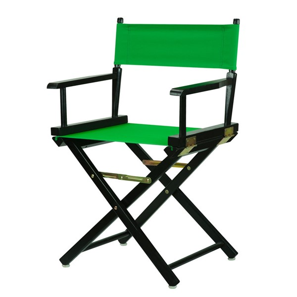 Casual Home Black Green Canvas 18 Inch Directors Chair CHOM-200-02-021-33