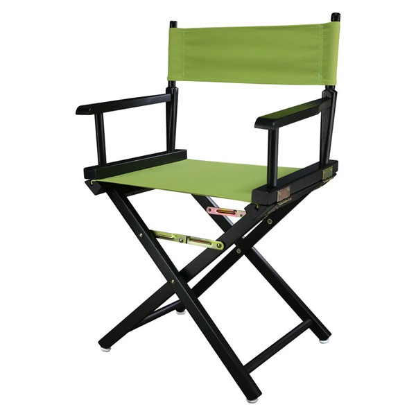 Casual Home Black Lime Green Canvas 18 Inch Directors Chair CHOM-200-02-021-72