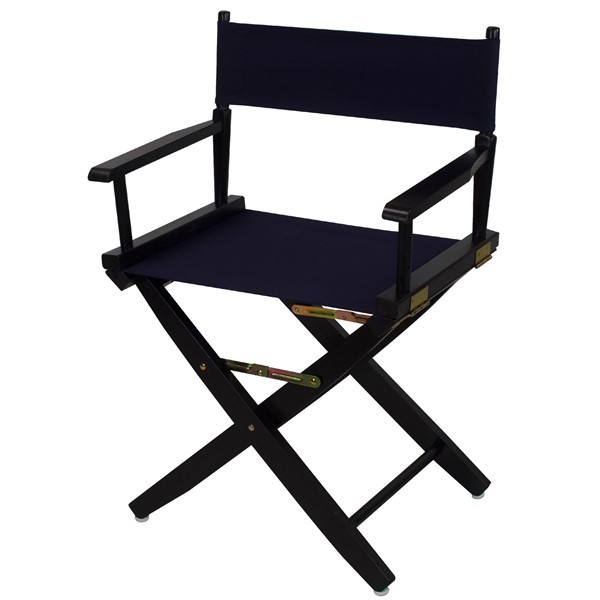 Casual Home Black Navy Extra Wide Premium 18 Inch Directors Chairs CHOM-206-02-FS-CH-VAR
