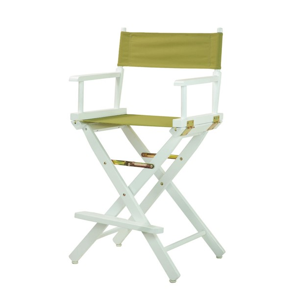 Casual Home White Olive Canvas 24 Inch Directors Chair CHOM-220-01-021-100