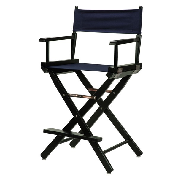 Casual Home Black Canvas 24 Inch Directors Chairs CHOM-220-02-FS-CH-VAR