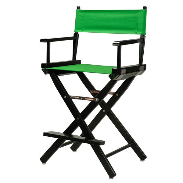 Casual Home Black Green Canvas 24 Inch Directors Chair CHOM-220-02-021-33