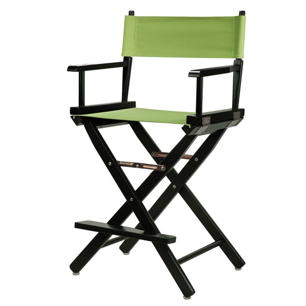 Casual Home Black Lime Green Canvas 24 Inch Directors Chair CHOM-220-02-021-72