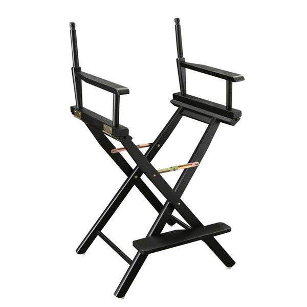 Casual Home Black 24 Inch Directors Chair Frame CHOM-220-02