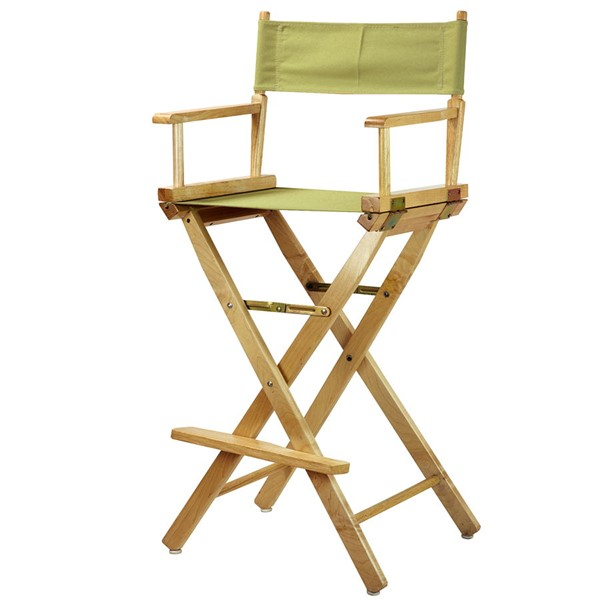 Casual Home Natural Sage Canvas 30 Inch Directors Chair CHOM-230-00-021-91
