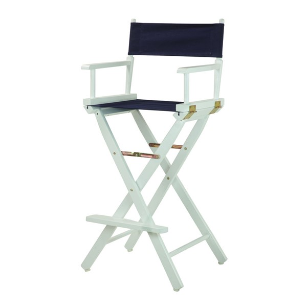 Casual Home White Canvas 30 Inch Directors Chairs CHOM-230-01-FS-CH-VAR
