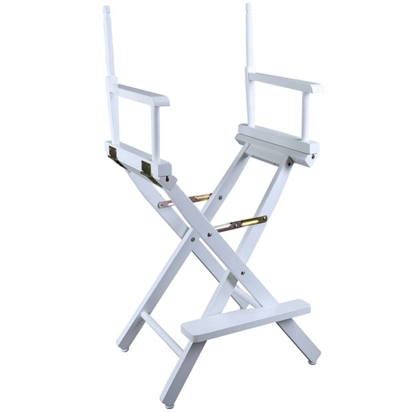 Casual Home White 30 Inch Directors Chair Frame CHOM-230-01