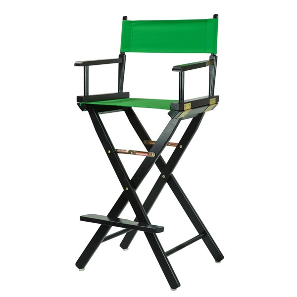 Casual Home Black Green Canvas 30 Inch Directors Chair CHOM-230-02-021-33