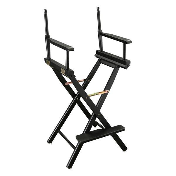 Casual Home Black 30 Inch Directors Chair Frame CHOM-230-02