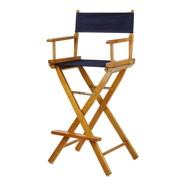 Casual Home Honey Oak Canvas 30 Inch Directors Chairs CHOM-230-05-FS-CH-VAR