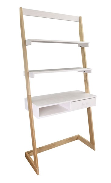Casual Home Natural White Free Standing Ladder Desk CHOM-317-920