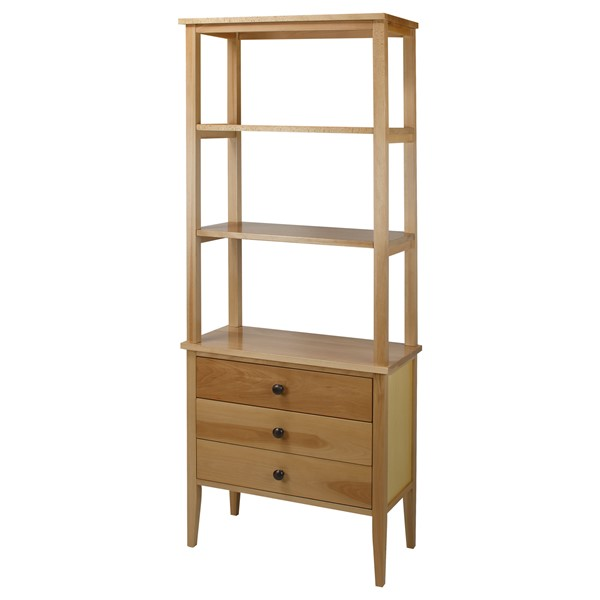 Casual Home Edison Natural Solid Wood Bookcases CHOM-328-40-BK-VAR