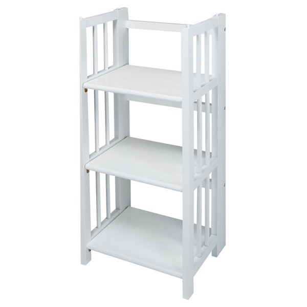 Casual Home 3 Shelves Folding Bookcases CHOM-331-31-BK-VAR