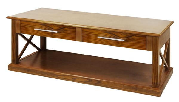 Casual Home Bay View Warm Brown Solid Wood Coffee Table CHOM-363-24