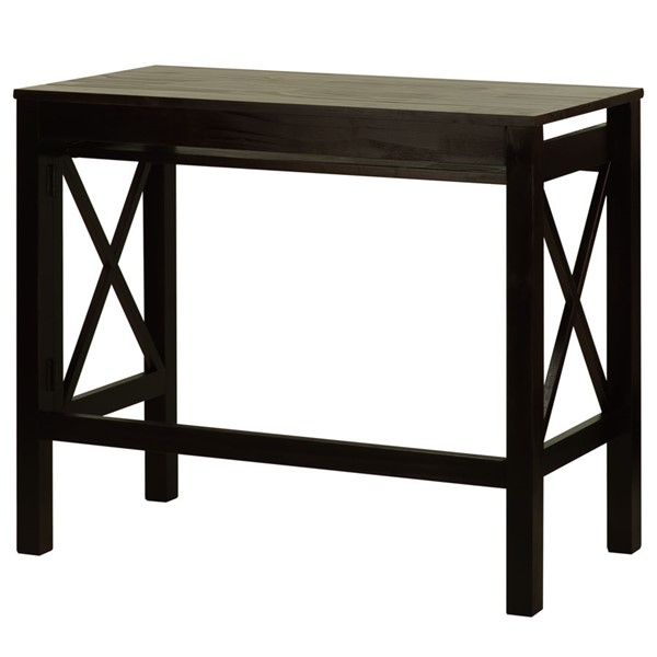 Casual Home Montego Espresso Solid Wood Folding Desk CHOM-533-33