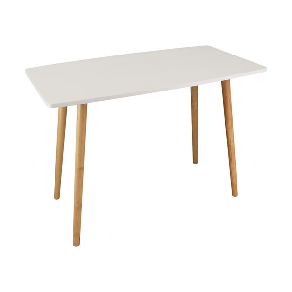 Casual Home Ezly White Natural Wooden Desk CHOM-563-51