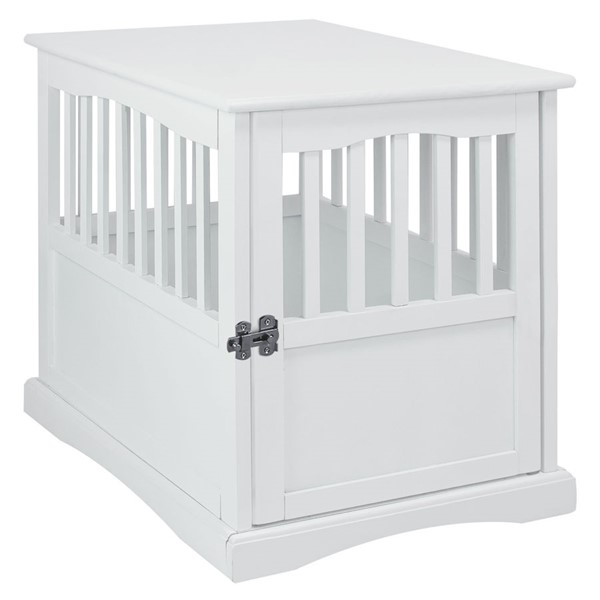 Casual Home White Pet Crate End Table CHOM-600-41