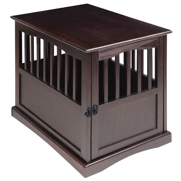 Casual Home Espresso Pet Crate End Table CHOM-600-44