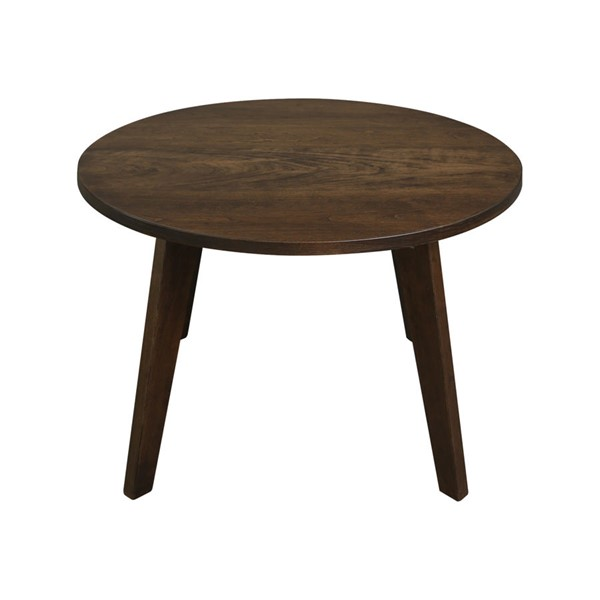Casual Home Genuine Cherry 24 Inch Round Coffee Table CHOM-643-833