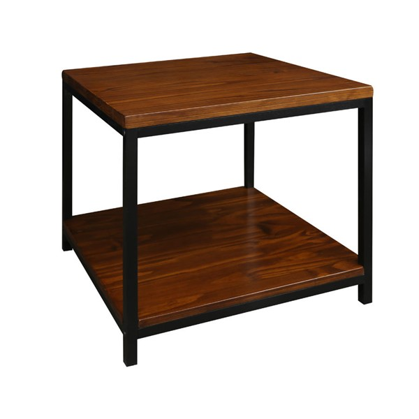 Casual Home Metro Mocha solid Wood End Table CHOM-694-14